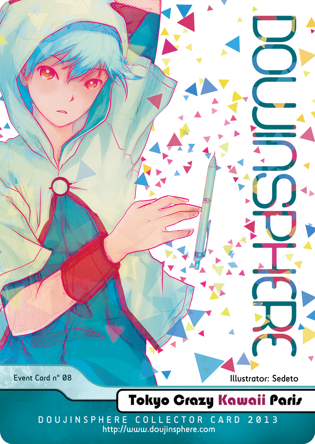DoujinSphere Card by Sedeto