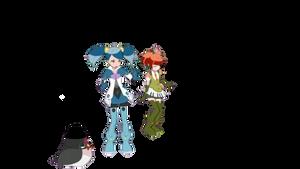 Minarai Diva (transparent)#1