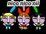 Ppgs doing their nico nico nii catchphrase