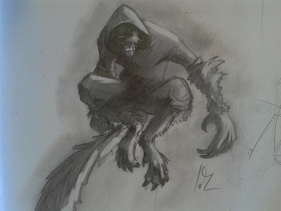 Ficha Gumball / licántropo. Werewolf_by_jackcallahan-d4zm20o