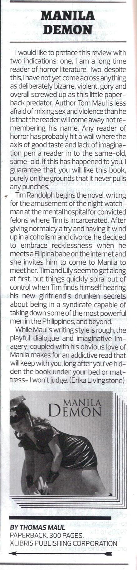 Manila Demon  Review by tbonelafs