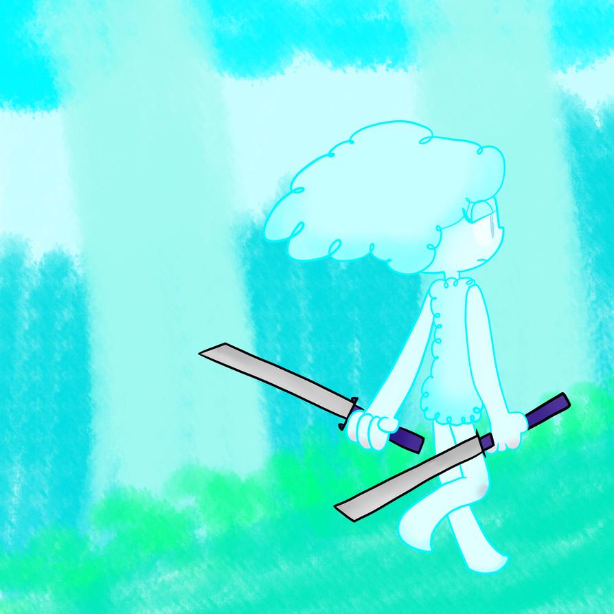 The bravest warrior by MachineGunEddie