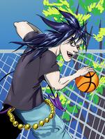 Basketball Azuu by Inkmonkey-Woodis