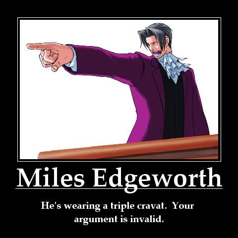 Miles Edgeworth by crazyfan67