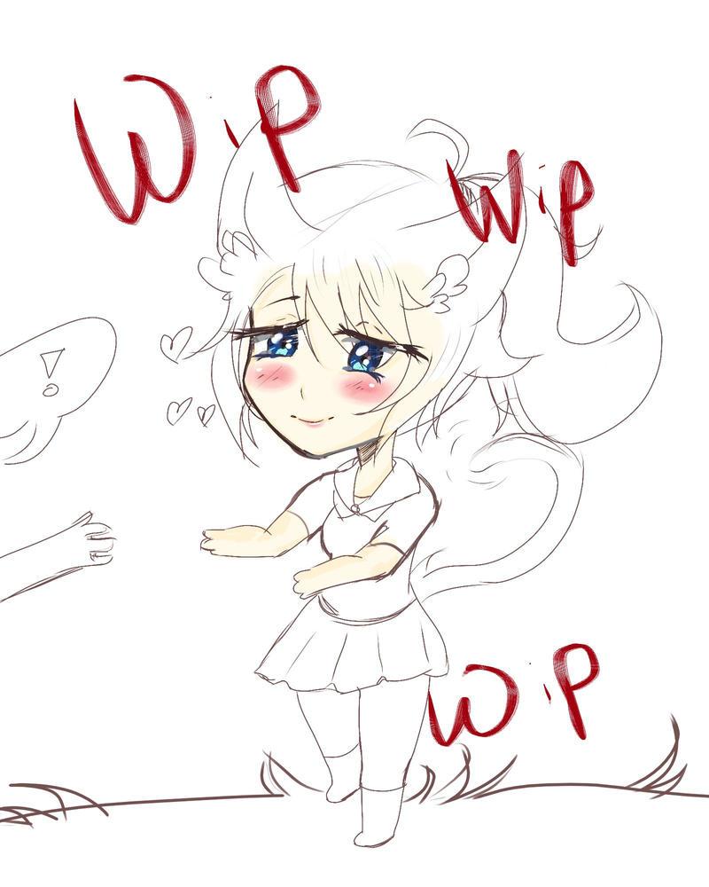 Yan Cat WIP by catyanderechan