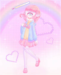 gamer girl by hancia