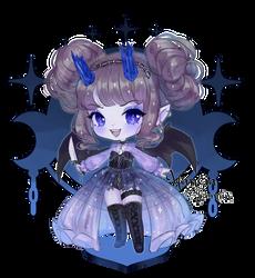 crystal demon adopt pls buy by hancia