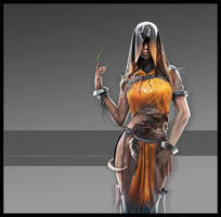 Character Concept - Avati Veth by ahodak