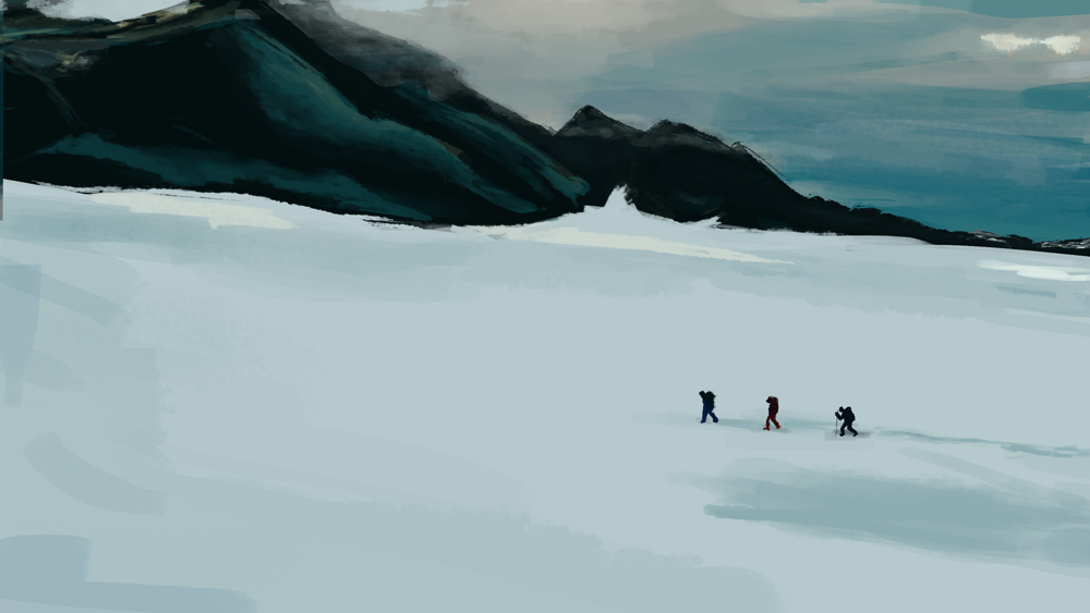 (Day 12) - Snow Climb by TwiggsSA