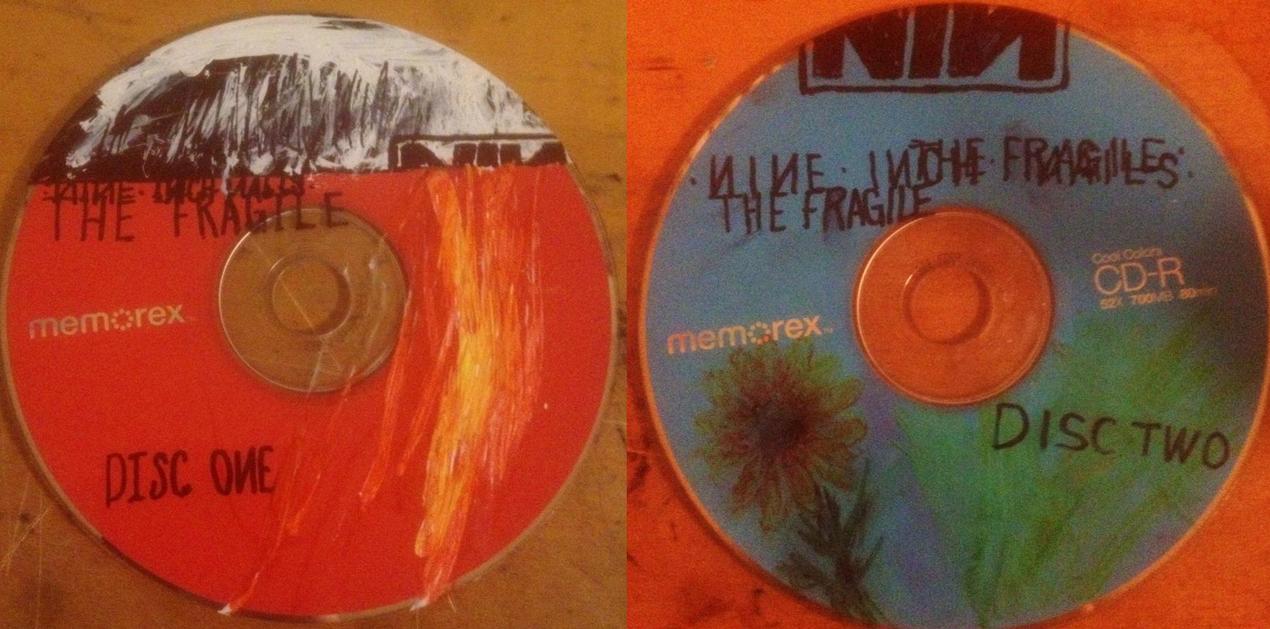 The Fragile Custom CD's by CaptainSelection