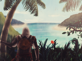 Waiting for the Black Flag by Hamstal