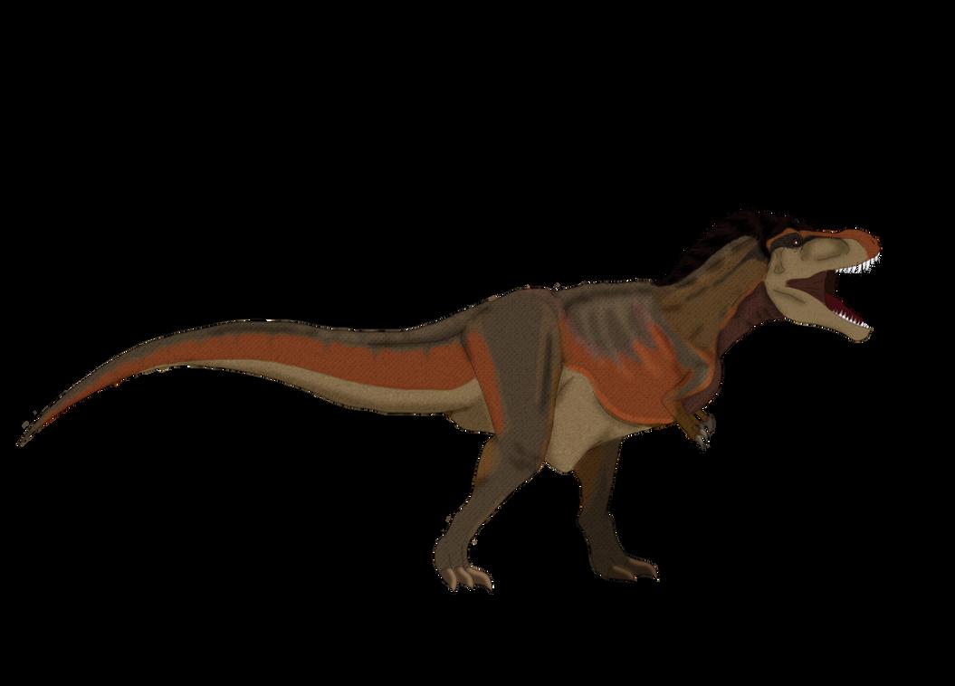 Tyrannosaurus rex redo (Vegeta Rex?) by Kunfuzzledful