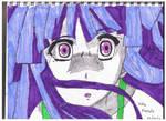 Drawing of Rika Furude