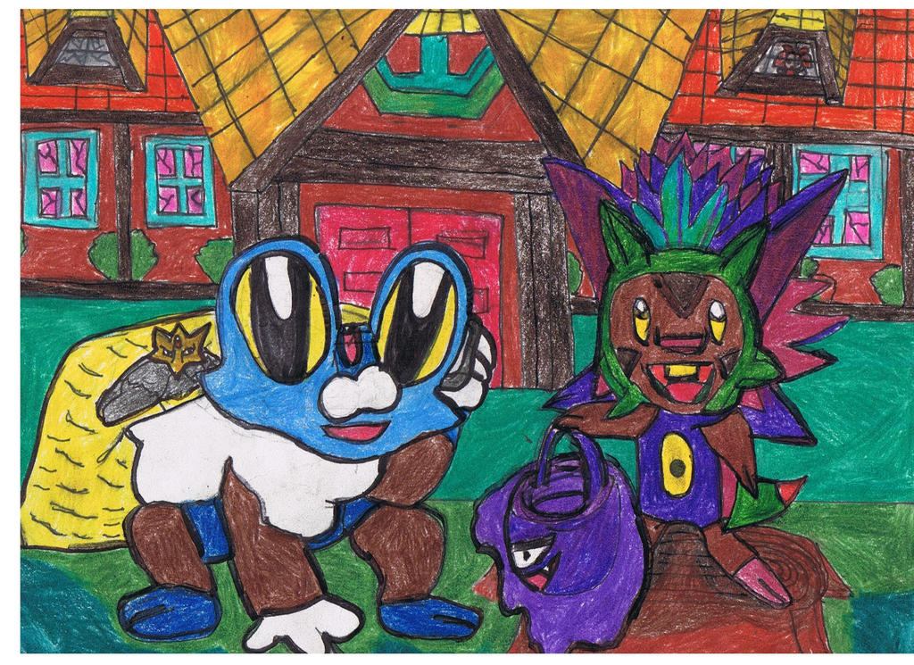 froakie_an_chespin_at_haunted_old_chateau_001_by_ienzo628-d9ctq92.jpg