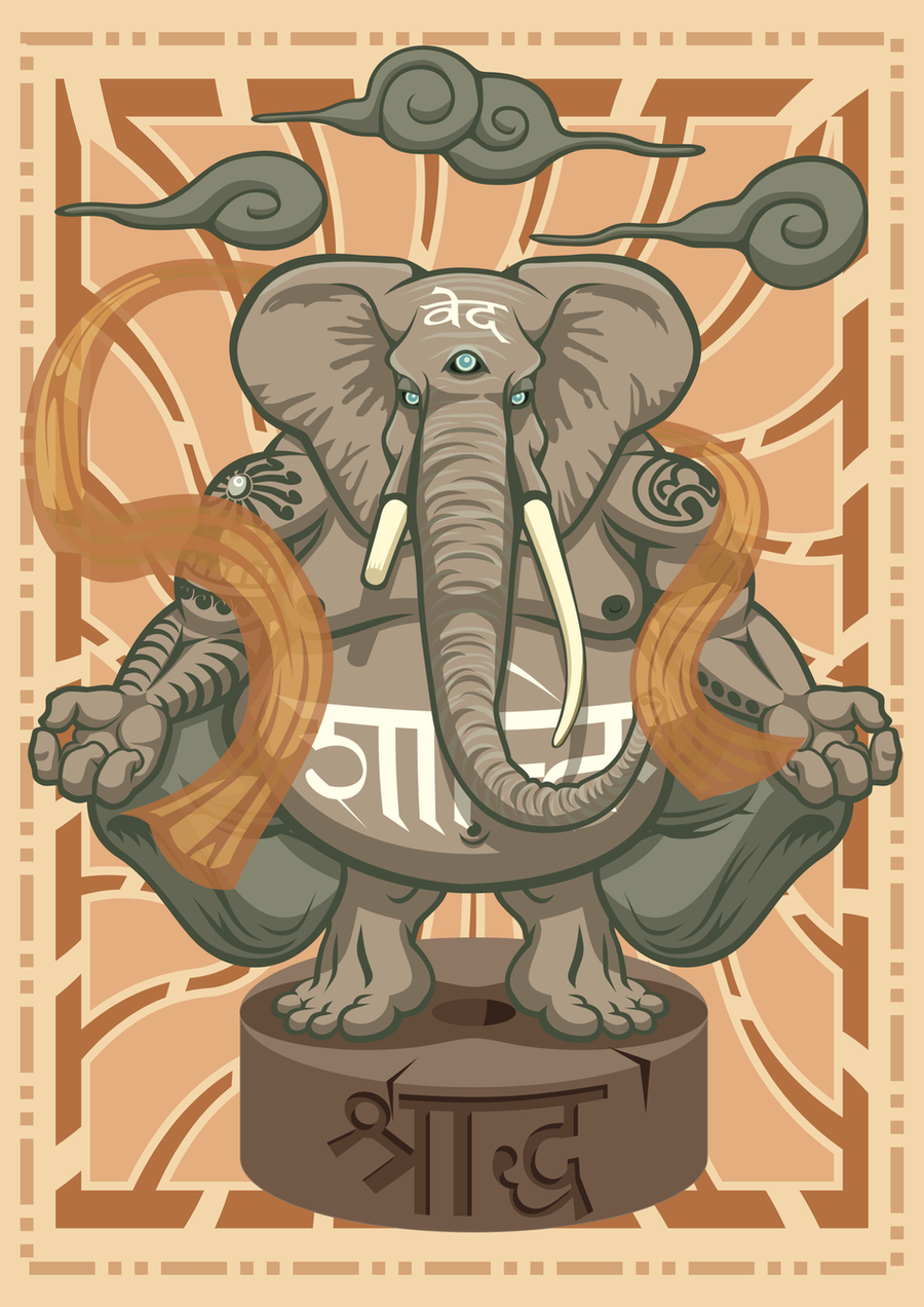 Ganesha by PsPeet