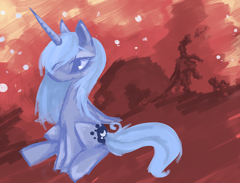 Princess Luna by Starl