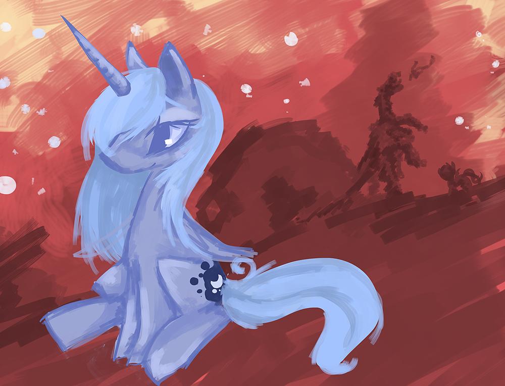 Princess Luna by Starl