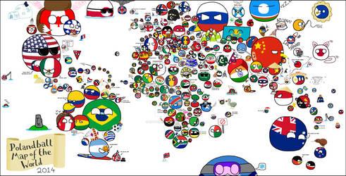 Polandball - The World