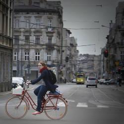 Lodz bikes by Grzechool