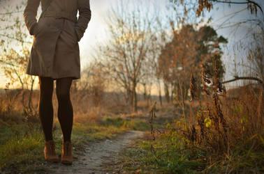 invitation for a walk... by Grzechool