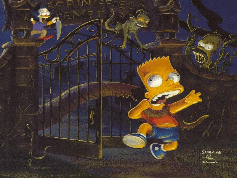 Simpsons halloween by SunnyDBoy