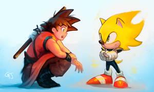 Dragonball x Sonic