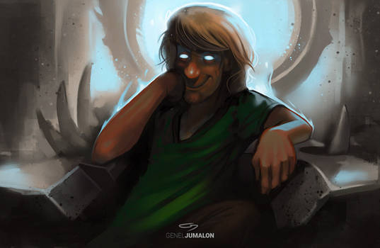 Shaggy Khan by GenelJumalon