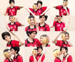 KuroKen - Heart Collage