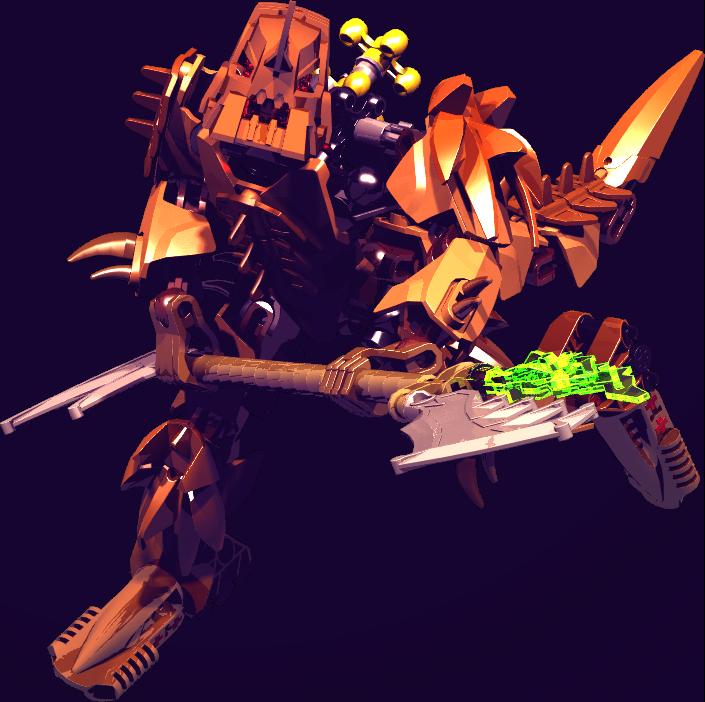 Vorox Warrior by lauraanimefanlein