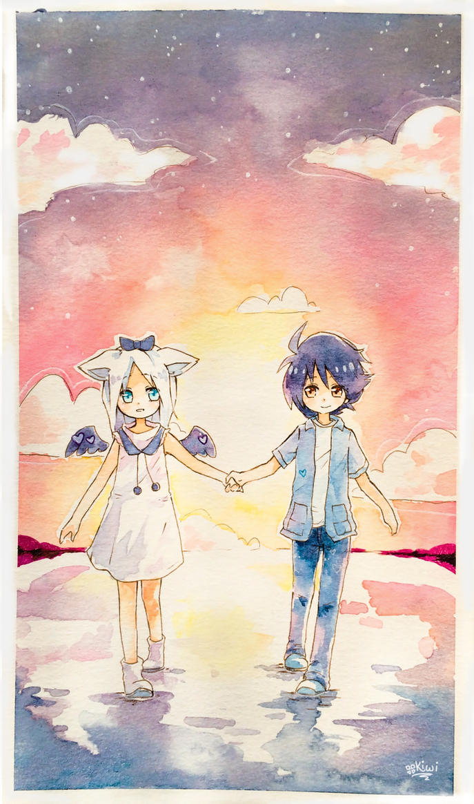 Walk With Me by KiwiKuru