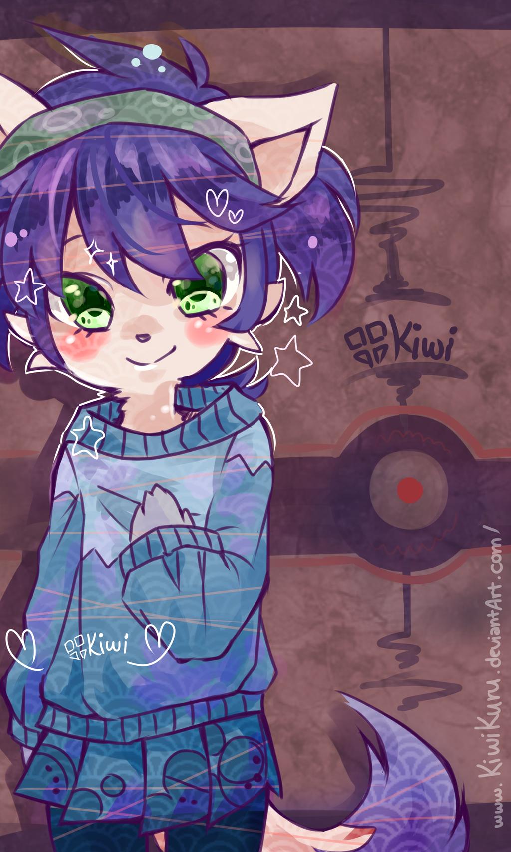 BOOKMARK commission for SpotheFox by KiwiKuru