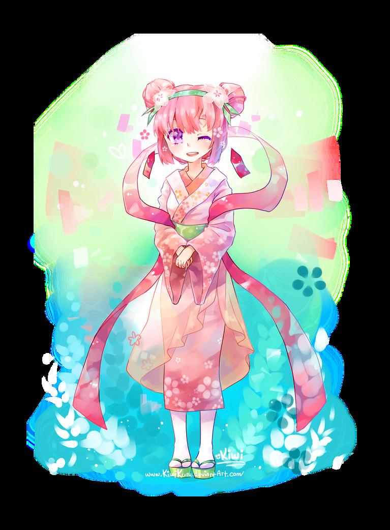 Because Spring Time is Soba Time by KiwiKuru
