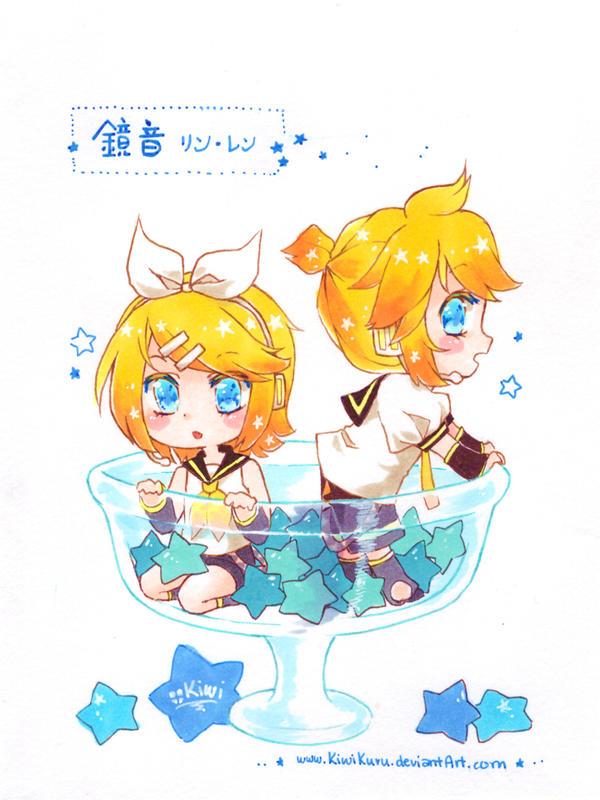 Kagamine Len Rin by KiwiKuru