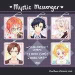 POINTS ACCEPTED Mystic Messenger Charms