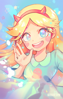 COMM: Star Butterfly by ToasterKiwi