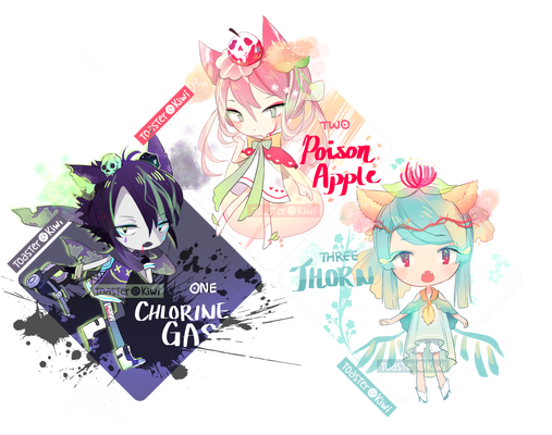 [CLOSED] SP Adopts: Poison Themed Parfumimi