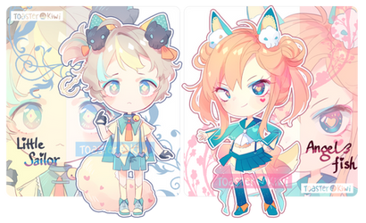 [CLOSED] Auction Adopts: Sailor Themed Fluffian