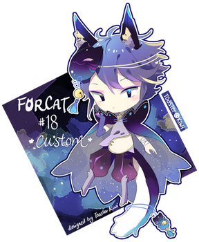 Custom Adopt: Forcat #18 for ErraticRhapsody