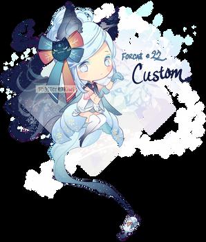 Custom Adopt: Forcat #22 for KakuDesu