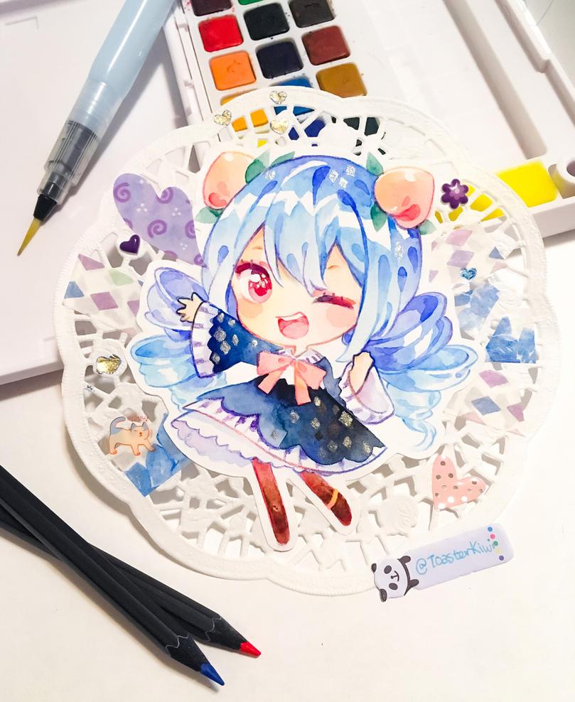 ART TRADE w/ Mameshii by ToasterKiwi