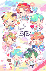 BTS Love Letter Charms