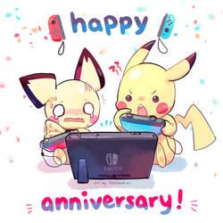 Happy 2nd, Nintendo Switch