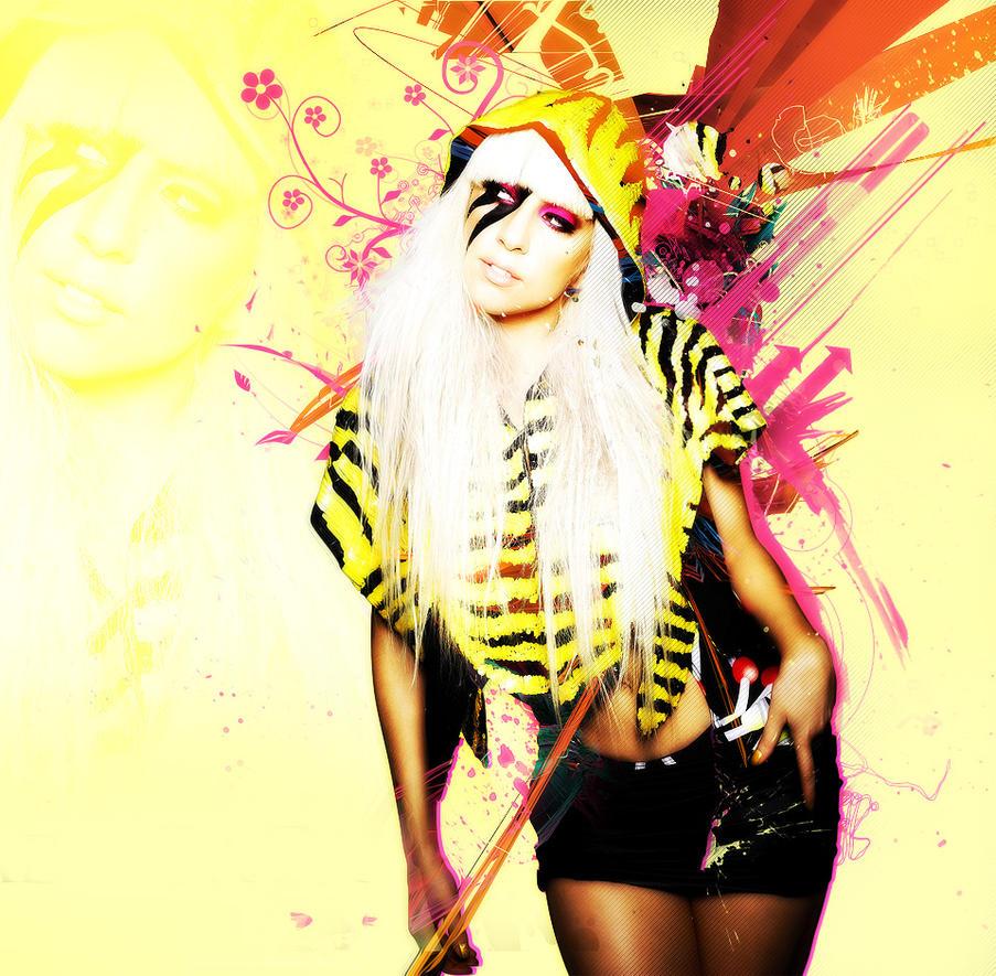 Lady Gaga by VinhFX