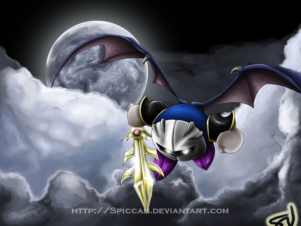 Meta Knight Wallpaper by Spiccan on DeviantArt