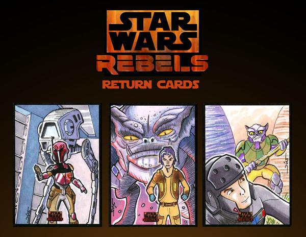 Star Wars Rebels return cards by Reznorix