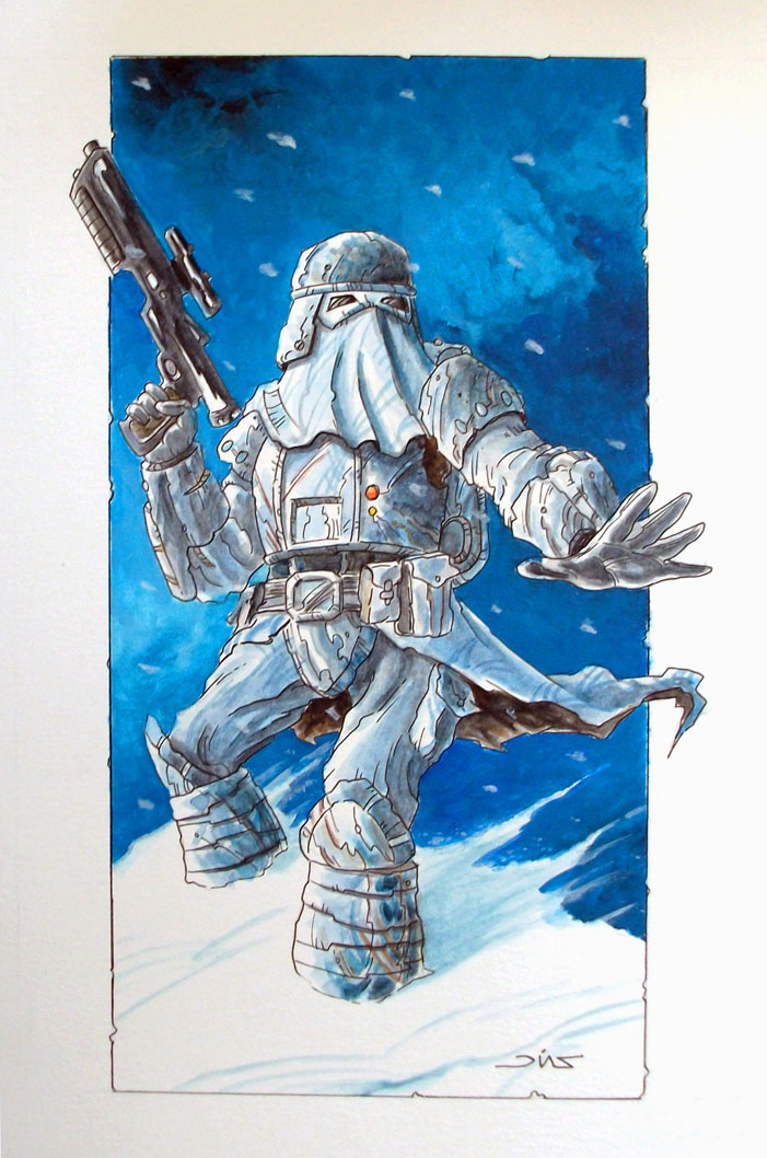Snow Trooper by Reznorix
