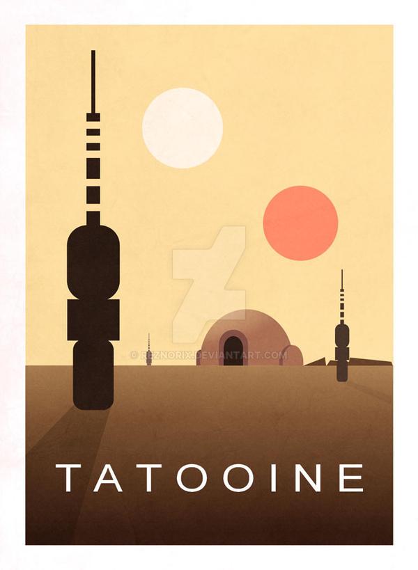 Tatooine by Reznorix
