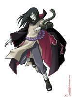 Orochimaru by Nikki-kineko