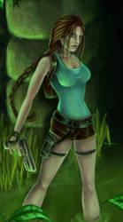 Swampy Lara WIP