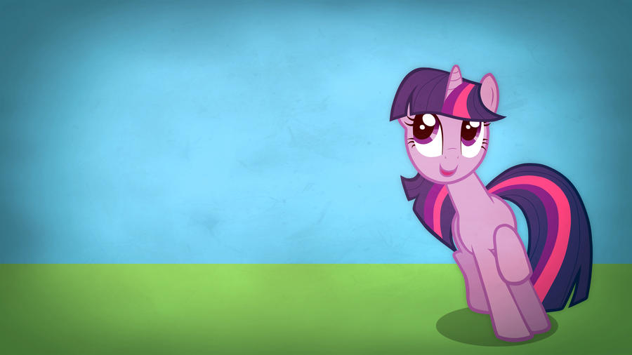 Fairly simple pony wallpapers - Twilight Sparkle by Poowis